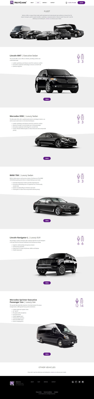 Netcars Enterprise Website Development and Design Project
