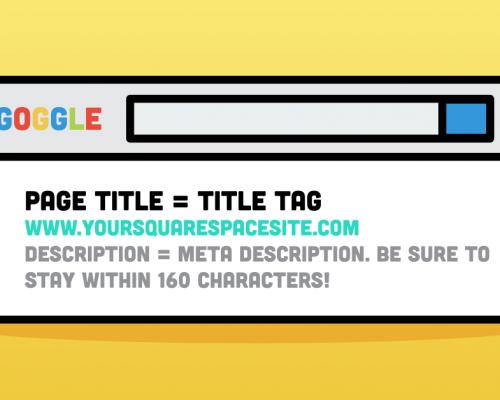 Technical seo - title and description tags